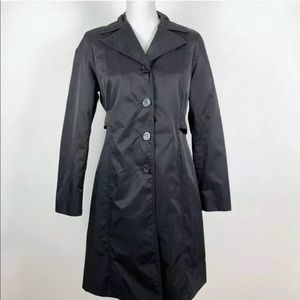 Michael Michael Kors Rain Jacket Collared Trench